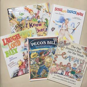 5 children's book lot